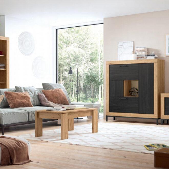 muebles-y-decoracion-salon-madera